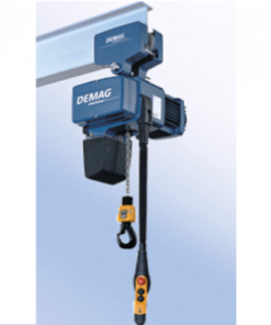 demag hoist with trolley