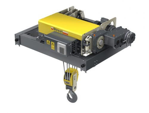 ZX double girder wire rope hoist