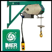 imer es150 scaffold hoist