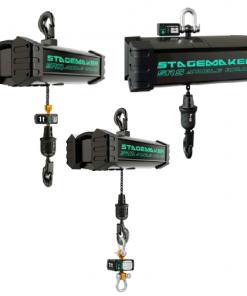 stagemaker sr entertainment hoist loadcell configurations
