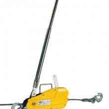 yale lp wire rope puller