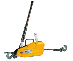 yale lp wire rope cable puller
