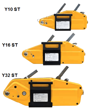Yaletrac ST Wire Rope Puller | Lifting Hoists Direct