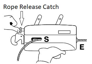 jockey rope release