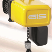 GIS electric chain hoist