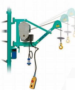 Imer air one scaffold hoist, stand hoist