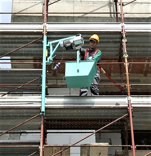 Imer BE 200 scaffold hoist