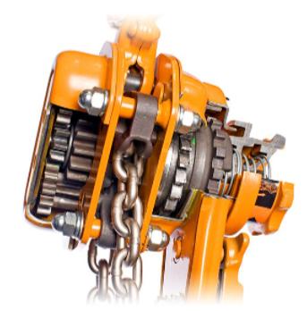 Kito LB lever hoist mechanics