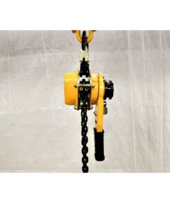 LGD ratchet lever hoist side view
