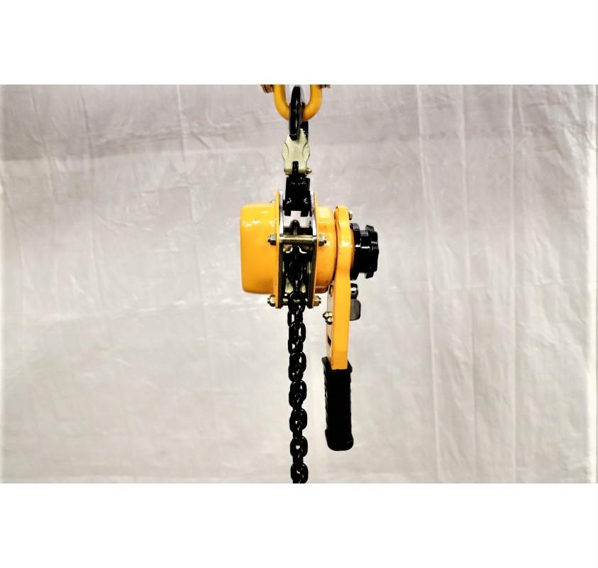 LGD ratchet lever hoist side view