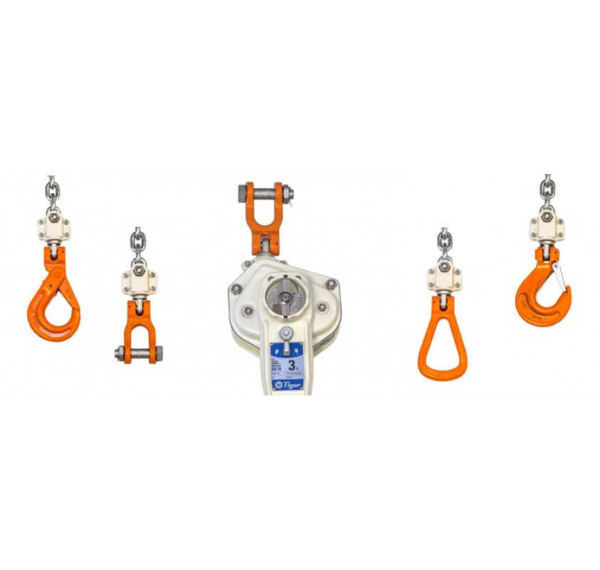 Tiger SS19 subsea lever hoist optional fittings