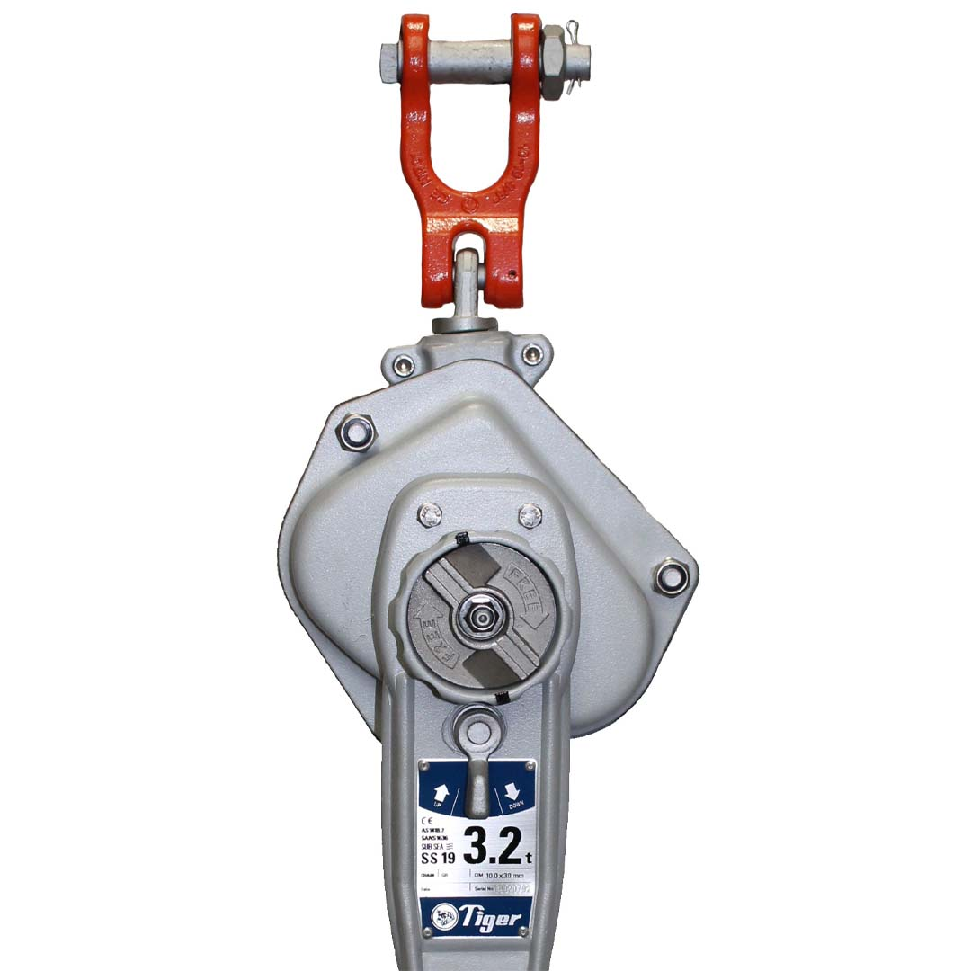 Tiger SS19 subsea lever hoist alternative fitting