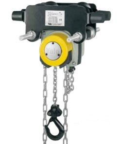 Yale 360 chain block with integral trolley