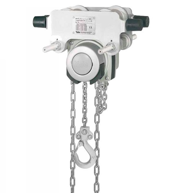 yale corrosion resistant chain block & trolley