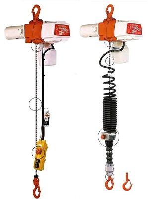 kito ed & kito edc electric hoists