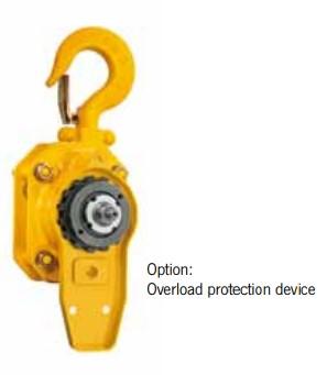 yale pt lever hoist overload protection