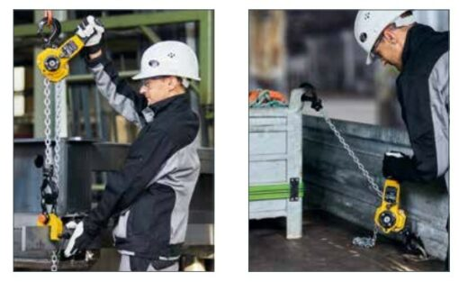 Uses of Yale uno plus lever hoist