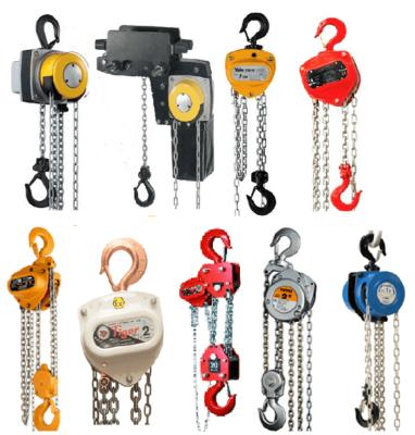 chain blocks - block & tackle